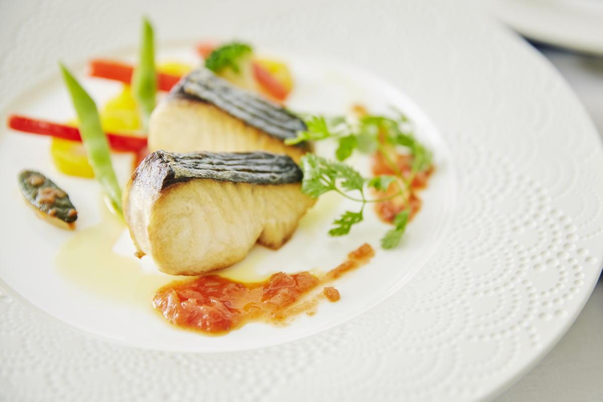 【 ランチ/お魚料理メインのプサリアコース 】ギリシャ風のお洒落なリゾートレスト...