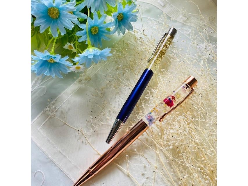 ※1組限定※【徳島・ハーバリウムボールペン】夏休みにも!お好きな花材でオリジナル...