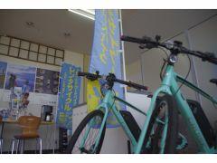 MIYATA《CRUISE 5080》●サイズ38(145-165cm)/43(155-175cm)クロスバイクタイプのe-Bike。軽く小さなフレーム万タイプ