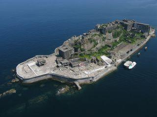 世界文化遺産 軍艦島(端島)