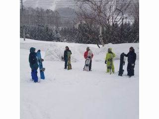 スノーボード半日プライベートレッスン♪