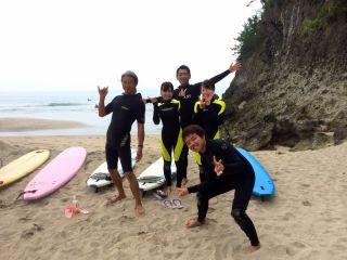【サーフレッスン】\初心者大歓迎/美しい弓ヶ浜で憧れのサーフィン★【所要2時間】