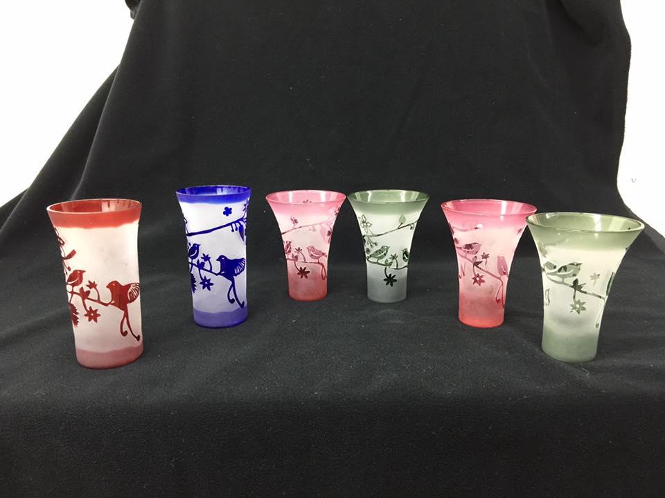 【サンドブラスト体験】グラス・小皿などに彫刻を刻もう!初心者の方でもキレイに作れ...