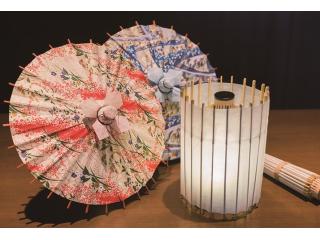 【ミニ和傘体験|90分】京都で唯一の「京和傘」製造工房でマイミニ和傘づくり体験!<カップル・お友達同士・ファミリーにもおすすめ>