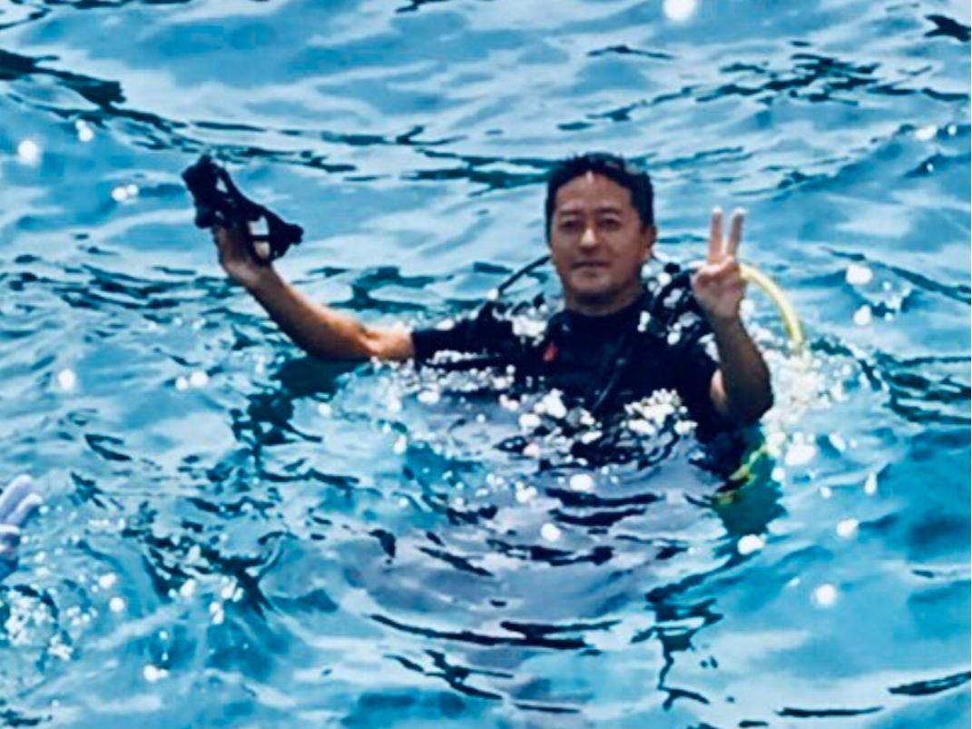 スクーバ・ダイビング体験