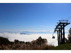 山頂から望む雲海