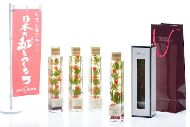 《じゃらん限定》【山形紅花・ハーバリウム作り体験】日本一の山形県産紅花を使って作...