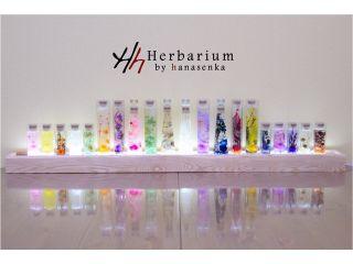 好きなお花や石を選んで当店オリジナルのパワースポット・ハーバリウムを作りましょう!