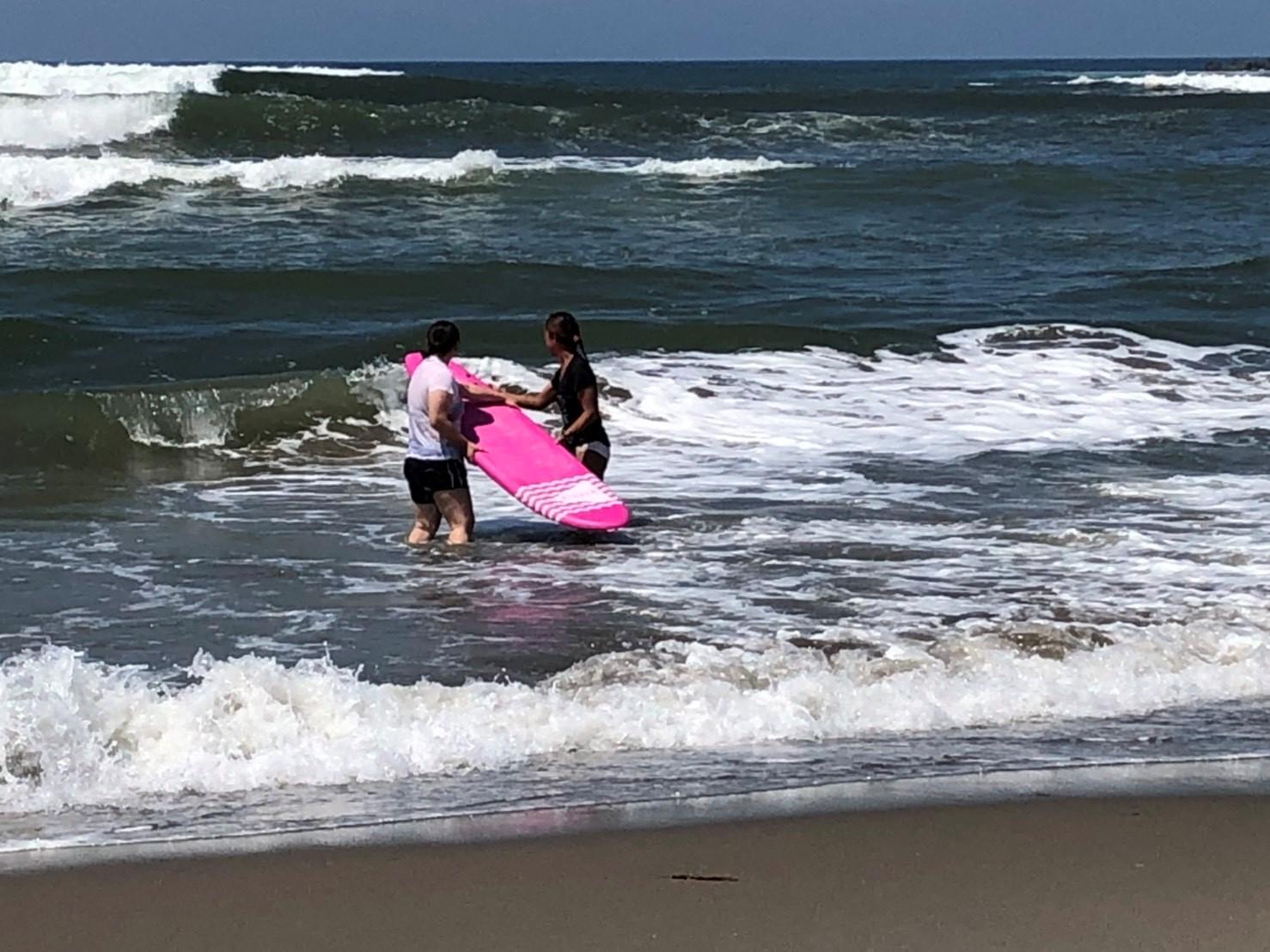 【サーフィン体験レッスン】~日本海の海を満喫♪~【初心者歓迎・女性歓迎★】
