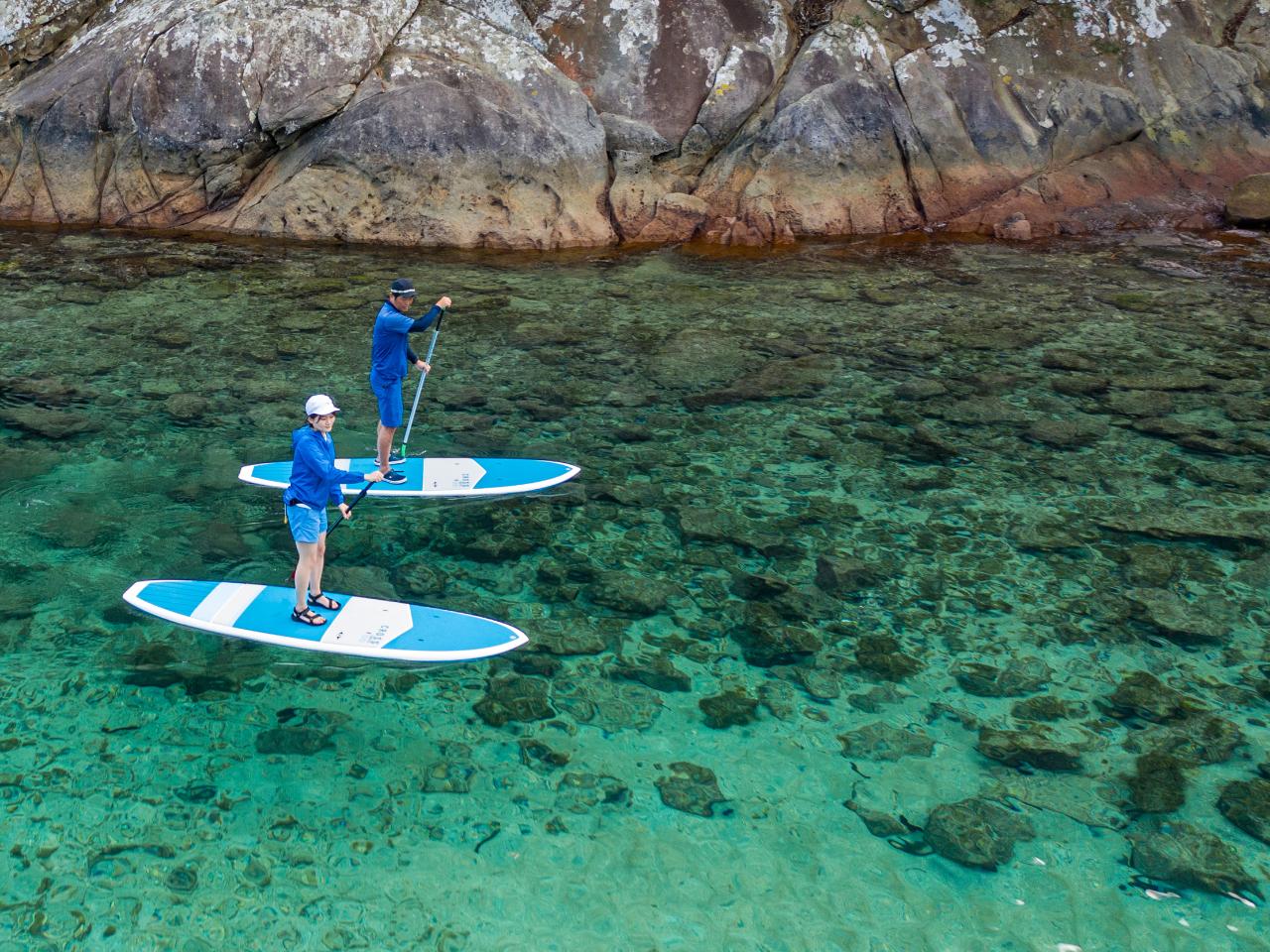 水床湾SUPクルージング<ガイドが撮影した画像データプレゼント♪>