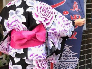 \浴衣で沼田の城下町を散策/浴衣着付け・プレゼントプラン☆選んだ着物を着て、そのまま帰れる☆【じゃらん限定】【女性限定】