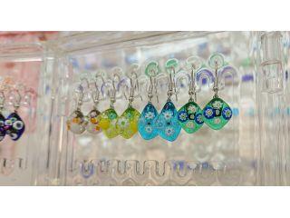 【じゃらん秋セール】【ガラス細工・イヤリングorピアス】女性必見!綺麗なガラスを使いイヤリングorピアス作り!