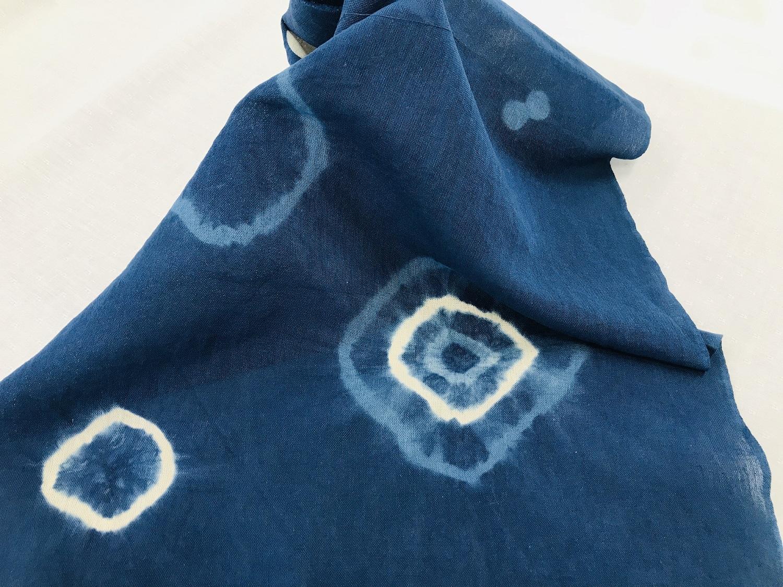 藍色のふるさと上板町で藍染体験手ぬぐい&新鮮な藍の生葉を使った生葉染め体験