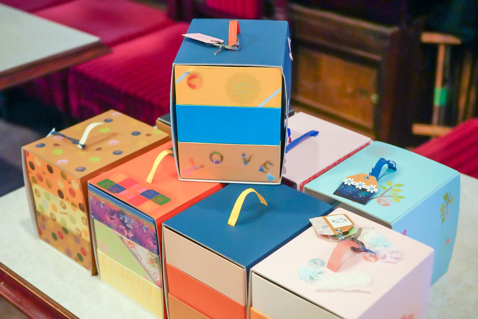 紙遊山箱づくり体験