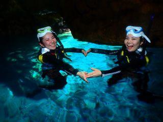☆冬季キャンペーン☆青の洞窟シュノーケリングツアー