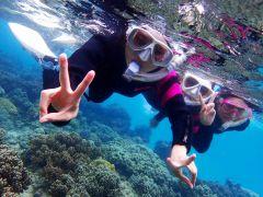 1日6名様限定!ウミガメ遭遇率、驚異の95%以上!6歳以上のお子様からご参加頂けます!旅の思い出に、ご家族でもどうぞ!