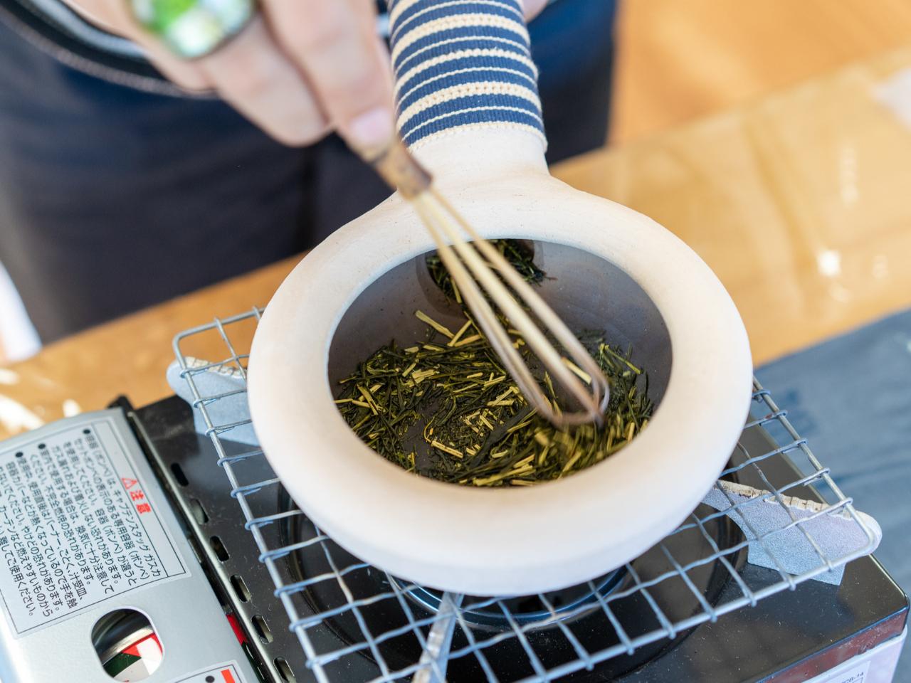 焙煎体験【ほうじ茶作り】