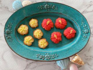 あんこのお花クッキー♪♪夏バージョンです。
