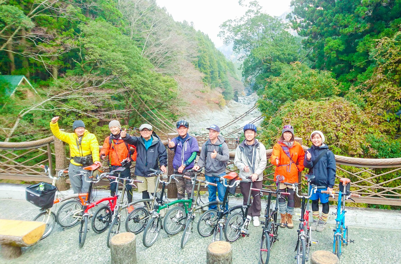 【徳島県】祖谷渓ポタリングツアー Iya Valley Tour