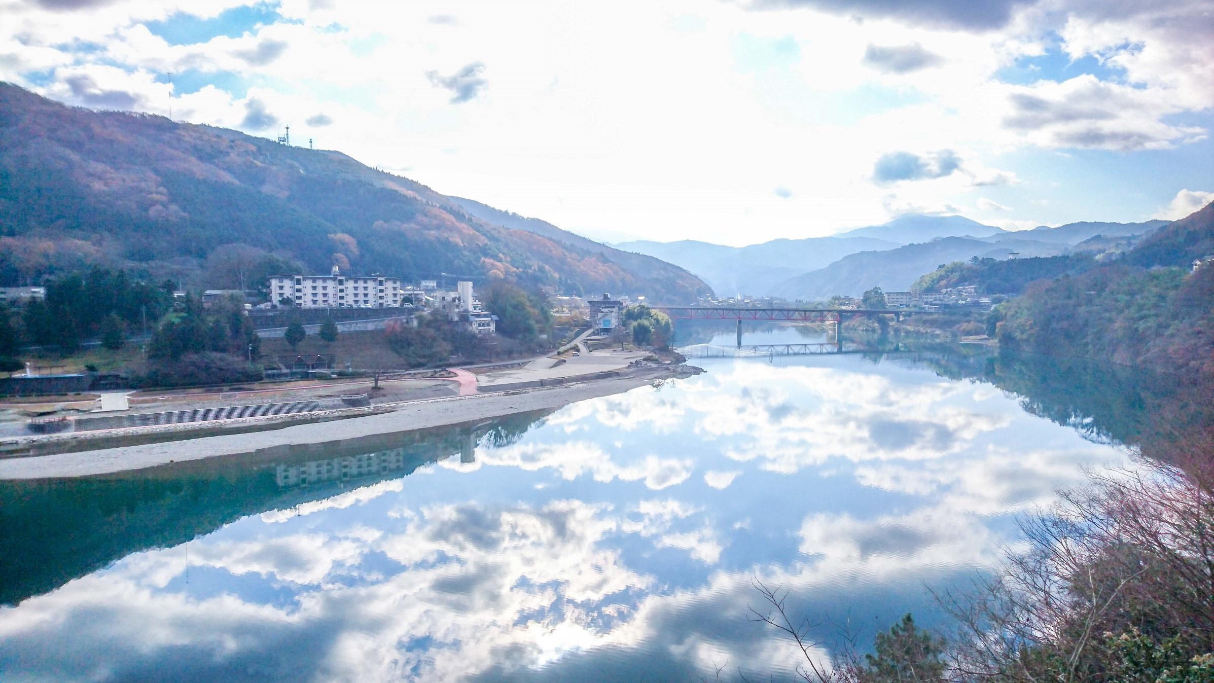 【徳島県】池田ダム湖ポタリングツアー Ikeda Reservoir Tour