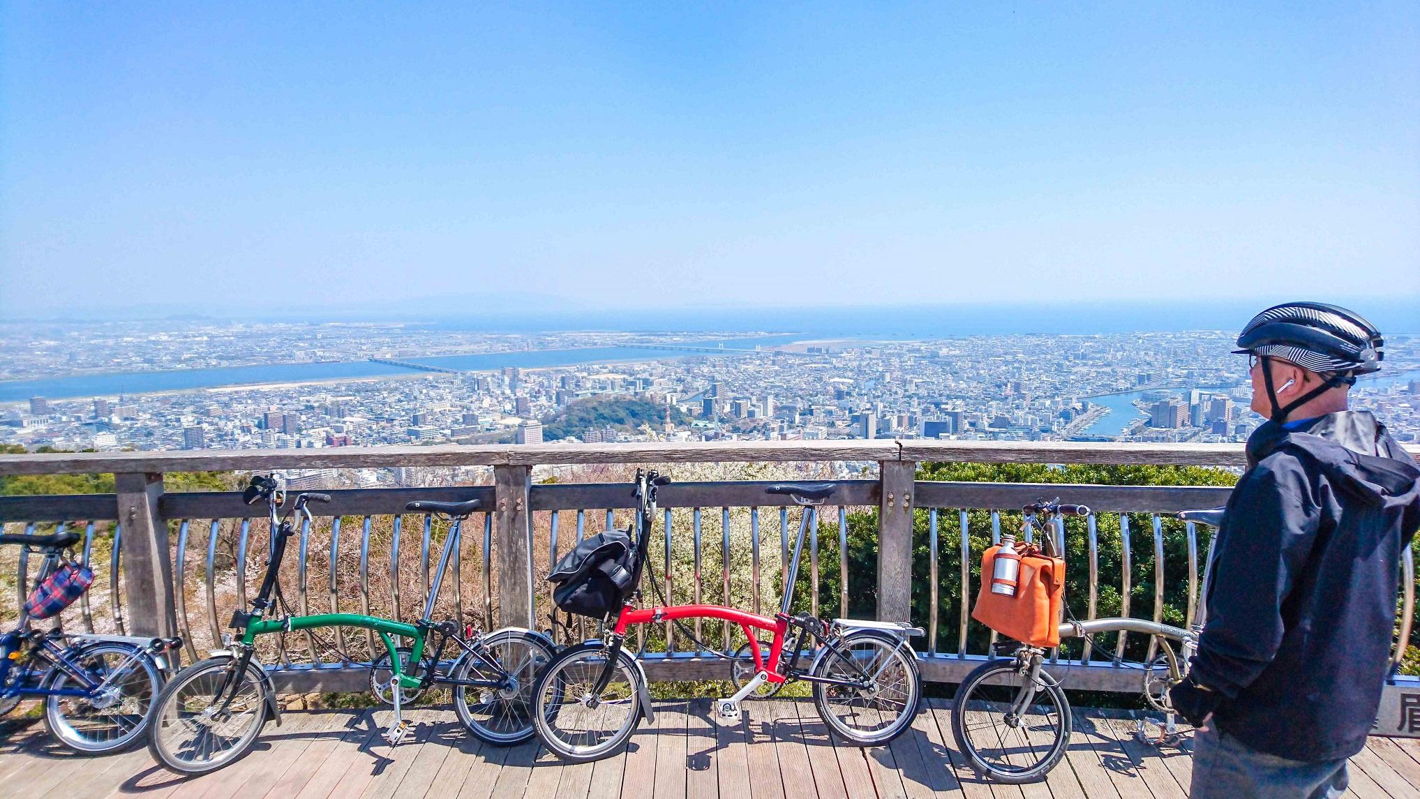 【徳島県】徳島 眉山~城下町ポタリングツアー Tokushima & Mt. B...