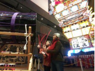 日本屈指の立佞武多祭りを体験 年中たちねぷた