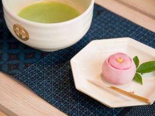 抹茶和菓子セットの例