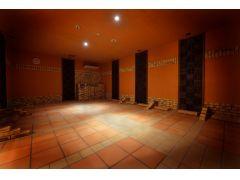 《岩盤浴*黄土の部屋》韓国産 黄土、竹炭 使用