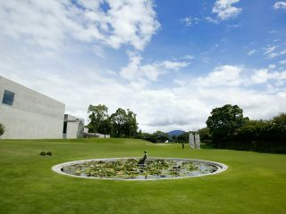 ヴァンジ彫刻庭園美術館 庭園の様子