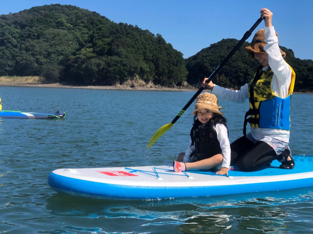 \SUP体験/【ショートコース】徳島県・阿南市☆青い海で自然を感じてみませんか?...