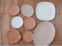 3種類の粘土からお好きな仕上がりのものを選んで制作できます