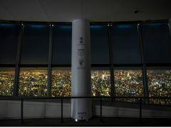 夜の天望回廊は、より幻想的な「空中散歩」が楽しめます。