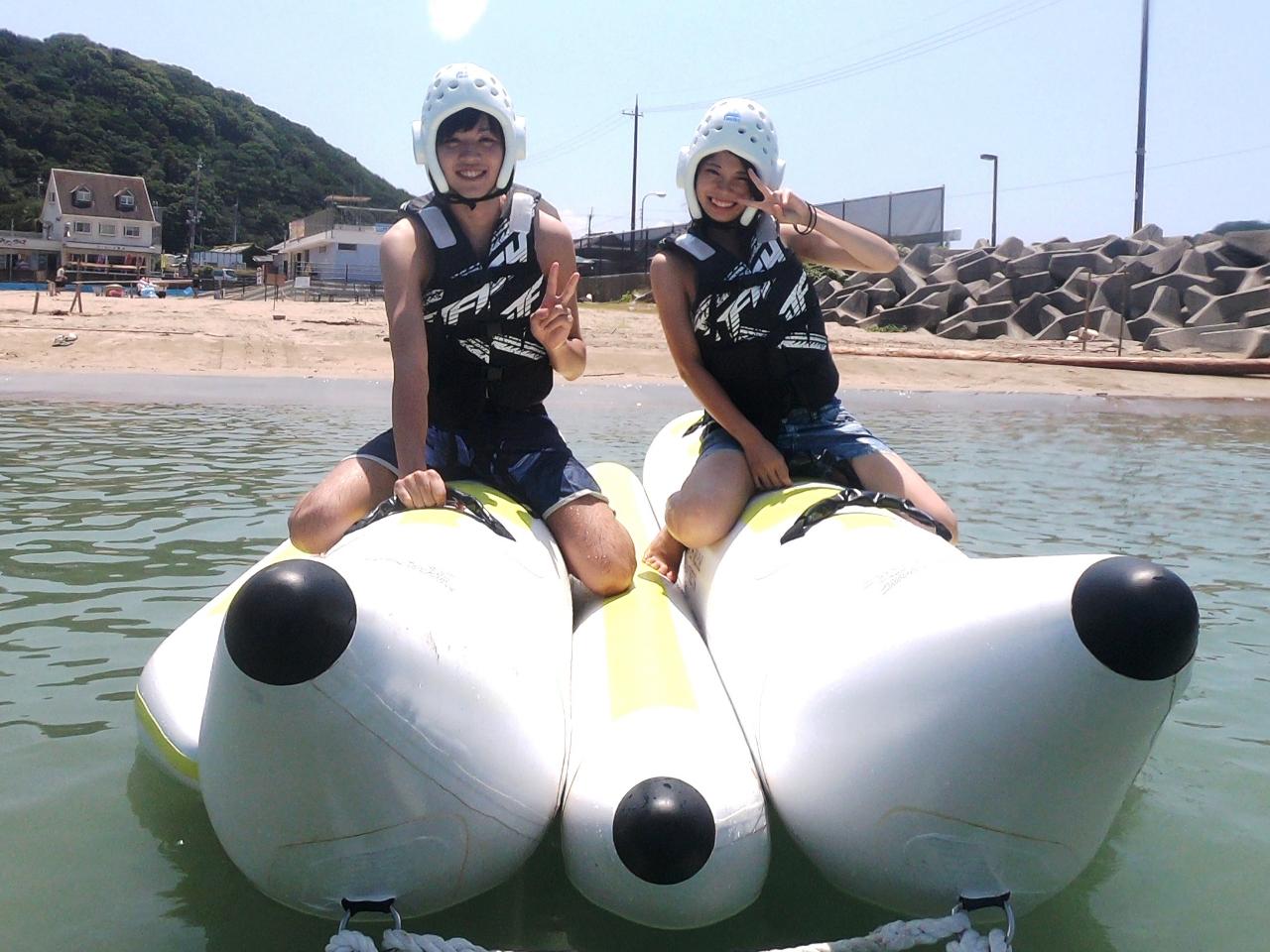 【夏季限定】マリンスポーツ 和歌山市加太海水浴場 ≪バナナボート≫