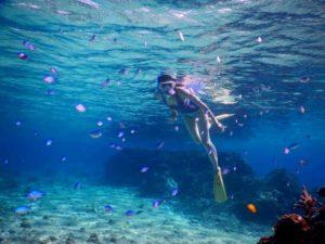 【シュノーケルプラン】◆\海が怖くても大丈夫/沈まないので子供でも安心♪透明度の...