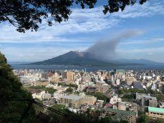城山展望台からの桜島