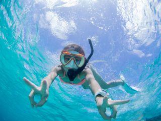 【当日予約OK】【完全貸切】旅の思い出に写真サービス付♪宮古の絶景ビーチでサンゴ礁シュノーケリング