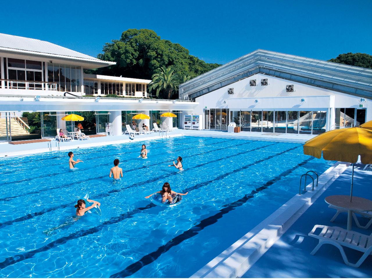 【プールで楽しんじゃおう♪プラン】◆\全天候型屋根付き/50m×7コースの広大な...