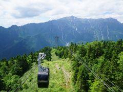 山頂の西穂高口駅からは北アルプスの360度の大パノラマがご覧いただだけます。