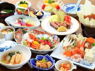 ご宴会Aプラン 季節により素材・盛り付け・器など写真と異なる場合がございます。