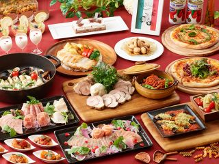 イタリアブッフェ 料理メニュー
