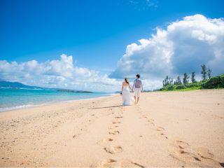 《シンプルプラン》憧れの沖縄フォトウェディングをお手軽に♪撮影のみのプランです☆所要時間60分☆