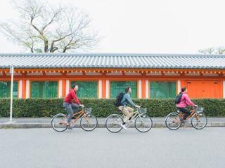 【英語ガイドと巡る】伏見稲荷と三十三間堂 半日プライベートサイクリング