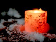 火を灯すととっても素敵です。