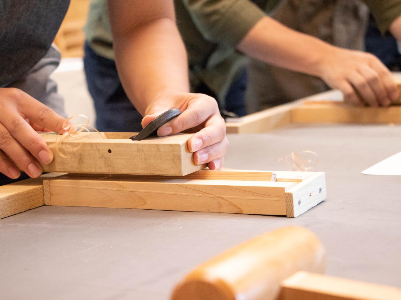 【箸作り】木頭杉で五稜箸をつくろう!10歳~参加可能◎自分だけのお箸を作ってみま...