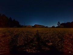 夕暮れ前後の空も幻想的!豊かな自然がなせるわざです!