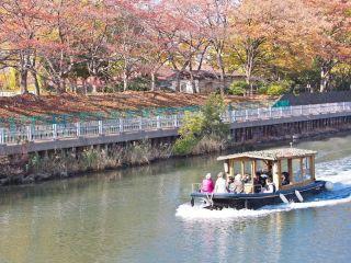 【おしなり公園船着場発着】下町のパナマ運河体験クルーズ<屋根付きのお座敷船なので雨の日でも安心♪コロナ対策実施中>