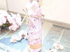 桜のハーバリウムもつくれます。