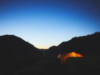 空中庭園キャンプ 水のサイト 「貸し出しテントプラン」