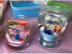 C サークルグラス小 2000円 D ワイングラス 2000円 ガラス細工1個付属
