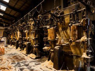 ジブリ感漂う日本最期の木毛(もくめん)工場